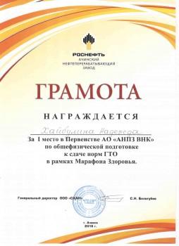 11 ГТО.  АНПЗ3