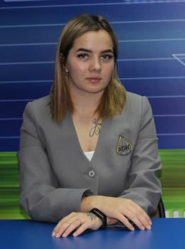 Кравченко Ксения - Председатель комитета по культуре и организации досуга
