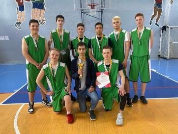 баскетбол 3 место КДЮСШ